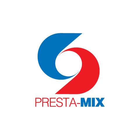 Presta-mix logo